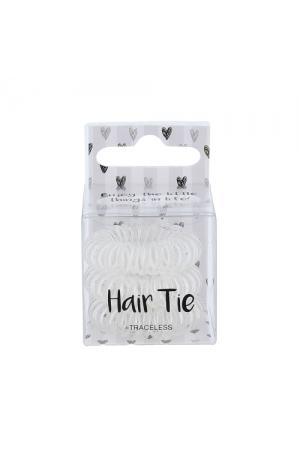 2k Hair Tie 3 τμχ Hair Bands Clear