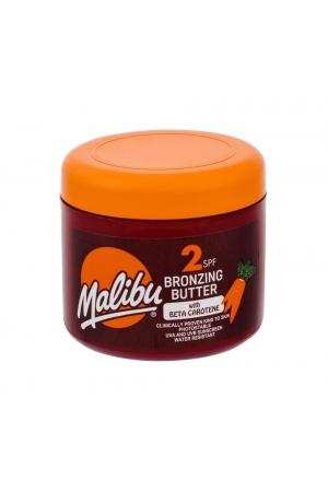 Malibu Bronzing Butter Sun Body Lotion 300ml Waterproof Spf2