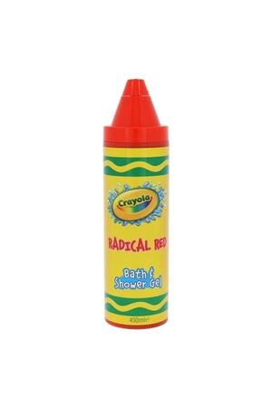 Crayola Bath & Shower Gel Shower Gel 400ml Radical Red