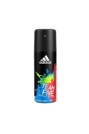 Adidas Team Five Special Edition Deodorant 150ml Aluminum Free (Deo Spray)