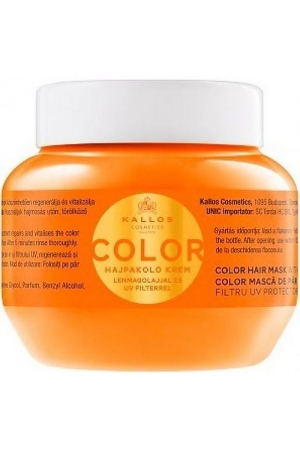 KALLOS Color Hair Mask With Linseed Oil And UV Filter 275ml
