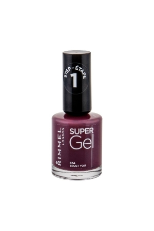 Rimmel London Super Gel Step1 Nail Polish 12ml 054 Trust You