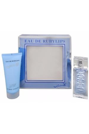Salvador Dali Eau De Rubylips Eau De Toilette 50ml Combo: Edt 50ml + 100ml Body Lotion (travel Set)