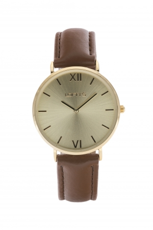 LOFTY'S Vintage Brown Leather Strap