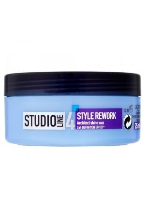 L/oreal Paris Studio Line Style Rework Architect Hair Wax 75ml 24h