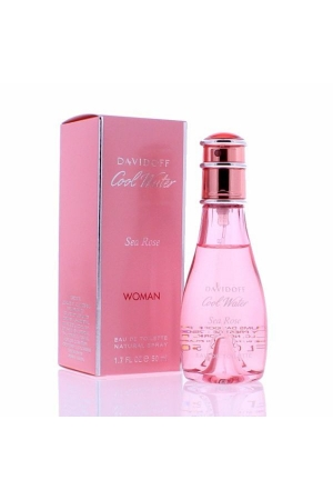 Davidoff Cool Water Sea Rose Eau De Toilette 50ml Woman