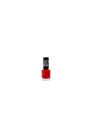 Rimmel London 60 Seconds Super Shine Nail Polish 8ml 310 Double Decker Red