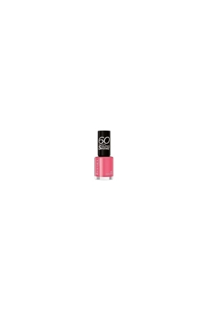 Rimmel London 60 Seconds Super Shine Nail Polish 8ml 407 Hot Tropicana
