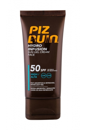 Piz Buin Hydro Infusion Face Sun Care 50ml Waterproof Spf50