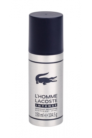 Lacoste L/homme Intense Deodorant 150ml (Deo Spray)