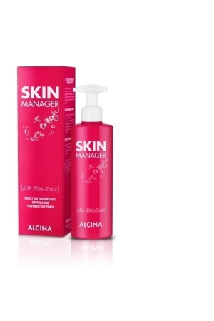 Alcina Skin Manager Aha Effekt Tonic Cleansing Water 50ml (All Skin Types)