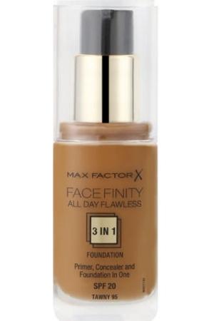 Max Factor Facefinity 3 in 1 #95 Tawny 30ml SPF20