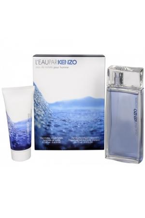 Kenzo L/eau Kenzo Pour Homme Eau De Toilette 100ml Combo: Edt 100ml + 75ml Shower Gel