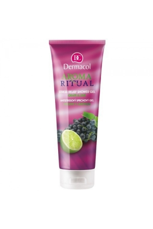 Dermacol Stress Relief Ritual AromShower Gel 250ml (Grapes With Lime)
