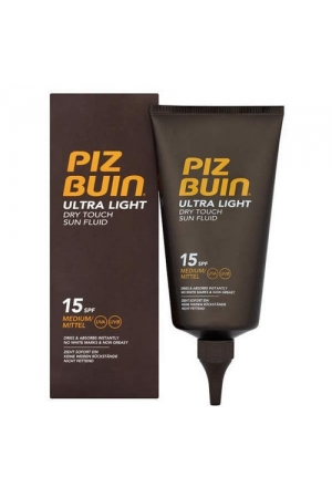 Pizbuin Ultra Light Dry Touch Sun Fluid SPF15 - Wishy-Fluid Lotion 150ml SPF15