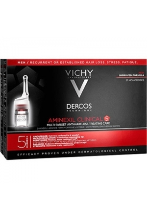 Dercos Aminexil Clinical 5 - Against Hair Loss, 21x6ml