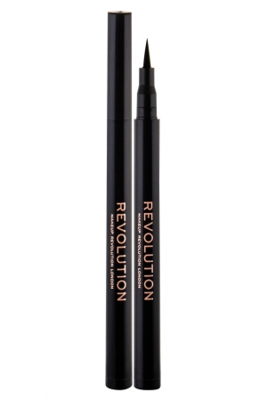 Makeup Revolution London The Liner Revolution Waterproof Eye Line 1ml Waterproof Intense Black (Eyeliner Fix)