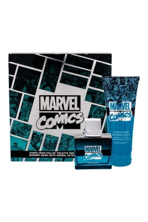 Marvel Comics Hero Eau De Toilette 75ml Combo: Edt 75 Ml + Shower Gel 150 Ml