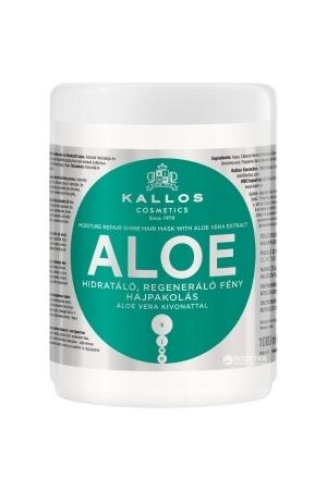 KALLOS Aloe Moisture Repair Shine Hair Mask With Aloe Vera Extract 1000ml