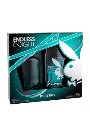 Playboy Endless Night Eau De Toilette 100ml Combo Edt 100 Ml + Shower Gel 250 Ml