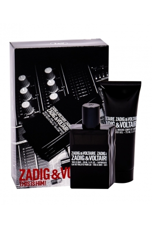 Zadig Voltaire This is Him! Eau de Toilette 50ml Combo Edt 50 Ml + Shower Gel 75 Ml