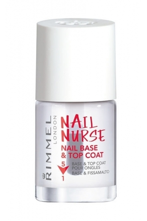 Rimmel London Nail Nurse Base & Top Coat Nail Polish 12ml