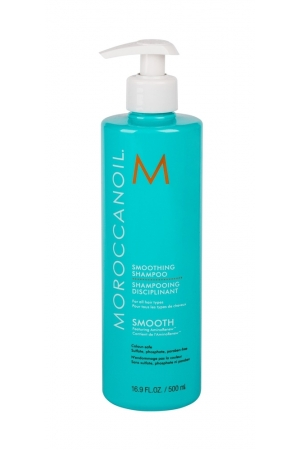Moroccanoil Smooth Shampoo 500ml (Colored Hair - Unruly Hair - All Hair Types)