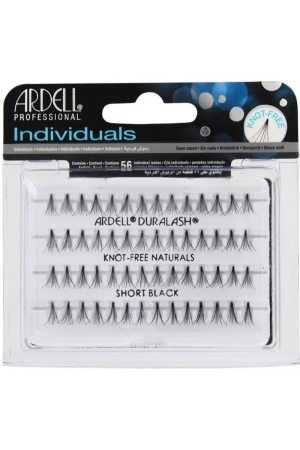 Ardell 3d Individuals Duralash Knot-free False Eyelashes 56pc Short Black