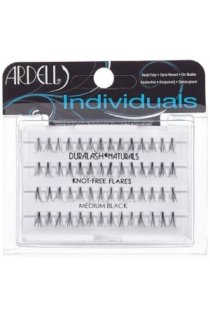 Ardell 3d Individuals Duralash Knot-free False Eyelashes 56pc Medium Black