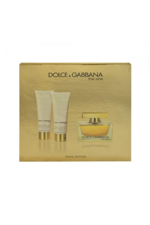 Dolce&gabbana The One Eau De Parfum 75ml Combo: Edp 75ml + 50ml Body Lotion + 50ml Shower Gel