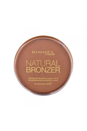 Rimmel London Natural Bronzer Bronzer 14gr Spf15 027 Sun Dance