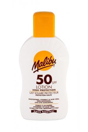 Malibu Lotion Spf 50 Sun Body Lotion 200ml Waterproof