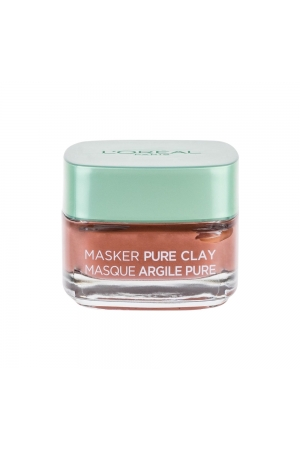 L/oreal Paris Pure Clay Glow Mask Face Mask 50ml (All Skin Types - For All Ages)