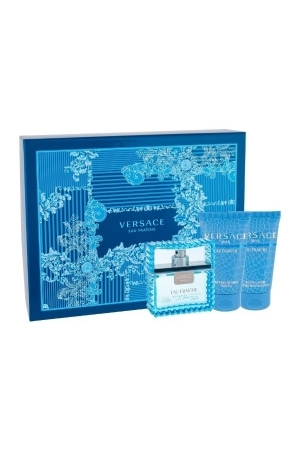 Versace Man Eau Fraiche Eau De Toilette 50ml Combo: Edt 50ml + 50ml Shower Gel + 50ml After Shave Balm