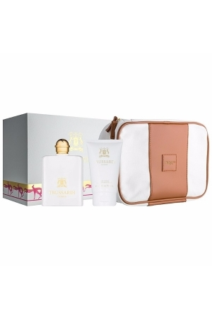 Trussardi Donna 2011 Eau De Parfum 100ml Combo: Edp 100 Ml + Body Lotion 100 Ml + Cosmetic Bag