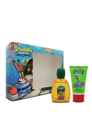 Spongebob Squarepants Mr. Krabs Eau De Toilette 50ml Combo: Edt 50 Ml + Shower Gel 75 Ml