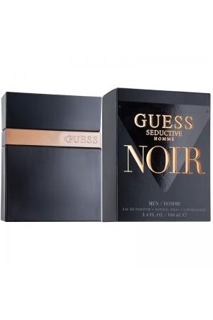Guess Seductive Homme Noir Eau De Toilette 100ml
