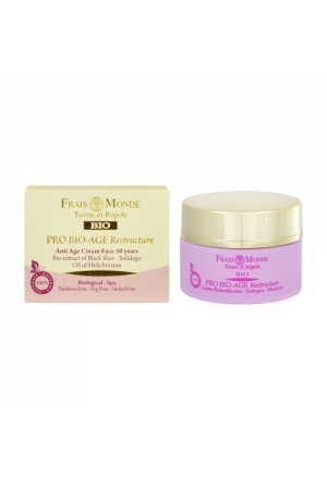Frais Monde Pro Bio-age Restructure Antiage Face Cream 50years Day Cream 50ml (Bio Natural Product - Wrinkles - Mature Skin - All Skin Types)