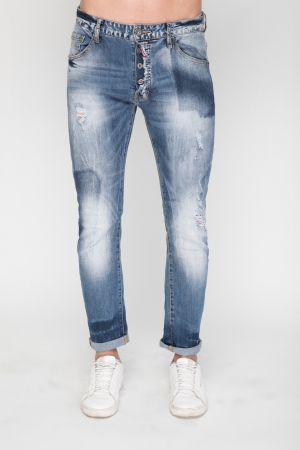 Super Skinny Jeans With In Light Wash