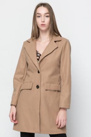Γυναικείο Παλτό Basic Line - Καμηλό