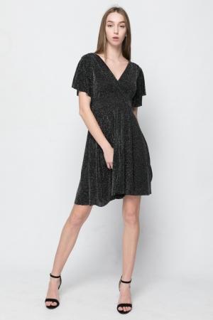 Φόρεμα Kristal Κλός με Κρουαζέ Μπούστο