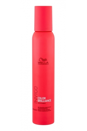 Wella Wpc Invigo Brilliance Vitamin Cond Mousse 200ml