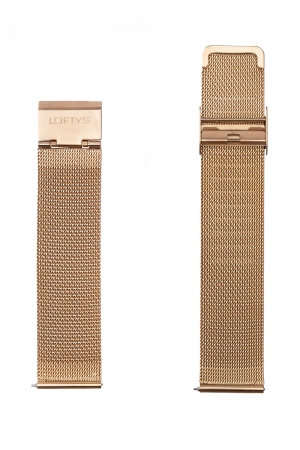 Gold Mesh Strap 20mm