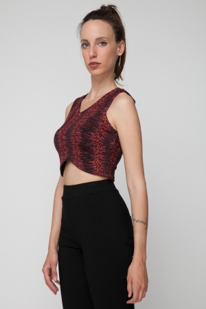 COZY Crystal Crop Top