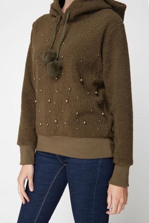 Μπλούζα Sheepskin με Πέρλες