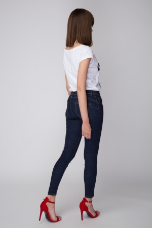 Denim Trouser In Clean Rinse Wash