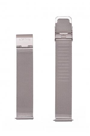 Silver Mesh Strap 18mm