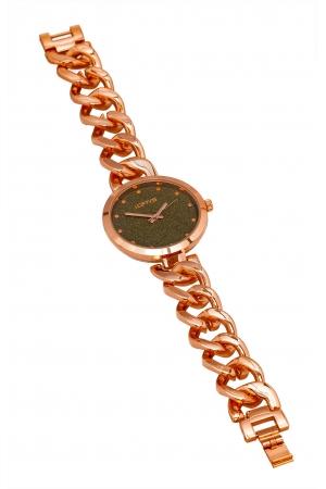 LOFTY'S Elegant Rose Gold Metallic Bracelet