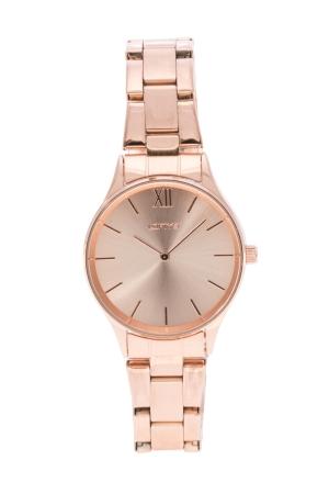 Ρολόι Loftys Venus με ροζ χρυσό μπρασελέ και καντράν Y2011-1