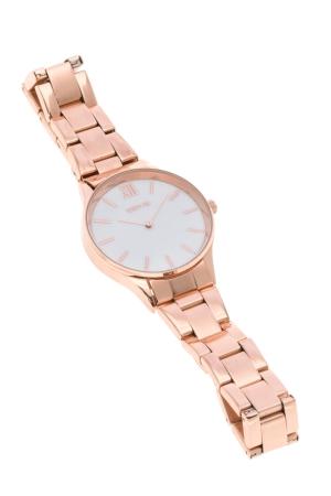 Ρολόι Loftys Venus με ροζ χρυσό μπρασελέ και λευκό καντράν Y2011-4
